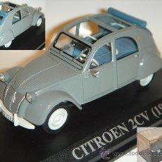 Coches a escala: IXO CITROËN 2 CV 1957 DE CALLE NUEVO - MINT / BOX 1/43. Lote 11512776