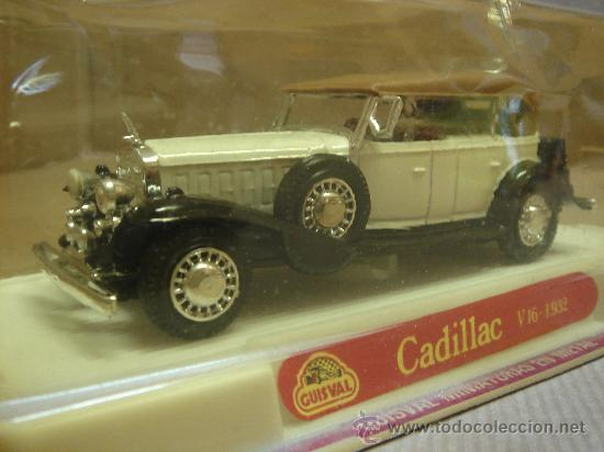 Coches a escala: COCHE METAL CADILLAC V 16 NUEVO GUISVAL MADE IN SPAIN ESC:1/43 - Foto 1 - 12236672