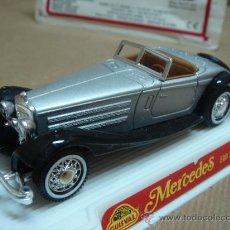 Coches a escala: COCHE METAL MERCEDES 540K NUEVO GUISVAL MADE IN SPAIN ESC:1/43. Lote 24362741