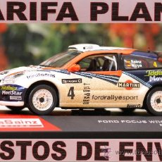 Coches a escala: FORD FOCUS WRC RAC RALLY 2002 SAINZ ESCALA 1:43 DE ALTAYA EN CAJA. Lote 27172870