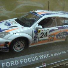 Coches a escala: COCHE FORD FOCUS WRC MADEIRA-PRATA 2001 - ALTAYA - ESC: 1/43. Lote 131894881