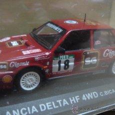 Model Cars - COCHE LANCIA DELTA HF 4WD BICA-PRATA 1988 - ALTAYA - ESC: 1/43 - 135784318