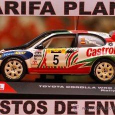 Coches a escala: TOYOTA COROLLA WRC 1998 RALLY SAFARI C. SAINZ ESCALA 1:43 DE ALTAYA EN SU CAJA. Lote 26909876