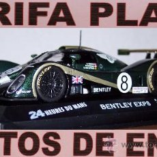 Coches a escala: BENTLEY EXP8 2001 24 HORAS DE LEMANS ESCALA 1:43 DE ALTAYA EN SU CAJA. Lote 27189168
