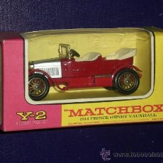 Coches a escala: MATCHBOX. Y2: 1914 PRINCE HENRY VAUXHALL. Lote 27159514