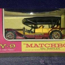 Coches a escala: MATCHBOX. Y9: 1912 SIMPLEX.. Lote 27159515