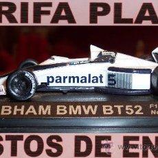 Coches a escala: BRABHAM BMW BT52 F1 1983 NELSON PIQUET DEFECTO LE FALTAN LOS RETROVISORES ESCALA 1:43 EN CAJA. Lote 26470833