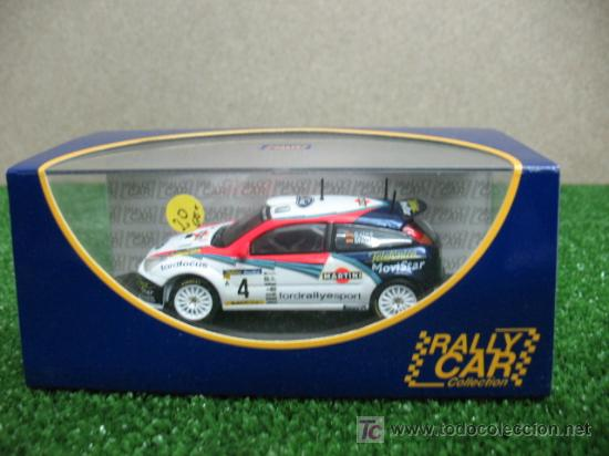 (RALLY CAR COLLECTION) FORD FOCUS WRC CARLOS SAINZ (Juguetes - Coches a Escala 1:43 Otras Marcas)
