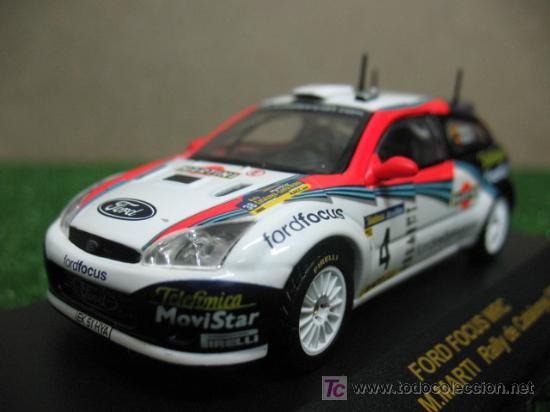 Coches a escala: (RALLY CAR COLLECTION) FORD FOCUS WRC CARLOS SAINZ - Foto 2 - 20432828