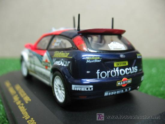 Coches a escala: (RALLY CAR COLLECTION) FORD FOCUS WRC CARLOS SAINZ - Foto 4 - 20432828