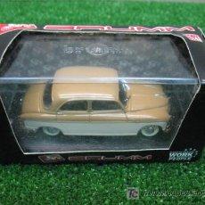 Coches a escala: (BRUMM) FIAT 1400B BICOLORE AÑO 1956. Lote 20599374