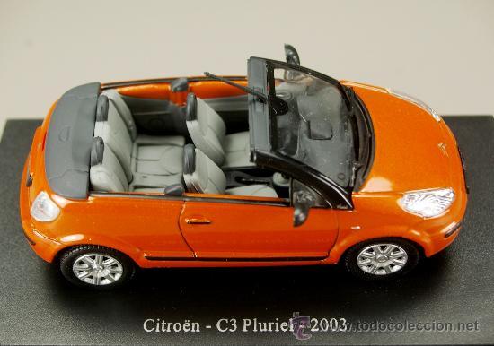 Coches a escala: CITROEN C3 PLURIEL 2003 Cabriolet - UNIVERSAL HOBBIES - Escala 1/43 – Nuevo en Blister Original - Foto 3 - 230489520