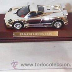 Coches a escala: PAGANI ZONDA C12S , BAÑADO EN PLATA 1/43 NUEVO. Lote 24522894