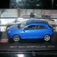 Coches a escala: SEAT IBIZA SPORTCOUPE Y SEAT IBIZA I - ALTAYA -. Lote 190334970