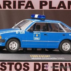 Coches a escala: FORD ESCORT MOSSOS D ESQUADRA (1982) ESCALA 1:43 DE ALTAYA EN SU CAJA. Lote 26968934