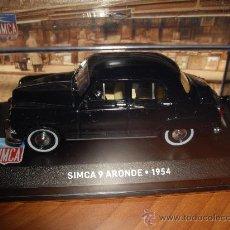 Auto in scala: SIMCA 9 ARONDE DE 1954 ESCALA 1/43 IXO ALTAYA NUEVO. Lote 27632730