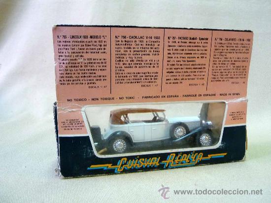 Coches a escala: COCHE DE METAL, GUISVAL, cadillac v 16 1932, , MADE IN SPAIN, ESCALA 1/43 - Foto 4 - 24610657