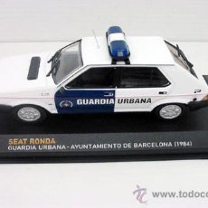 Coches a escala: SEAT RONDA GUARDIA URBANA BARCELONA BCN 1 43 METAL MODEL CAR . Lote 161161988