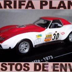 Model Cars - CHEVEROLET CORVETTE 24 HORAS DE LEMANS 1973 ESCALA 1:43 DE ALTAYA EN SU CAJA - 27189195