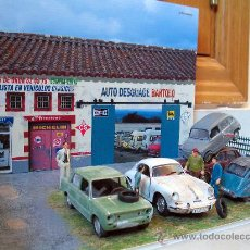 Carros em escala: DESGUACE BARTOLO. DIORAMA 1/43....JRDIORAMAS.... Lote 26904621
