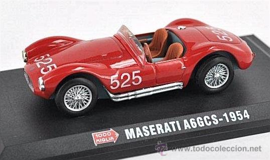 MASERATI A6 GCS DE 1954 - 1000 MIGLIA (Juguetes - Coches a Escala 1:43 Otras Marcas)