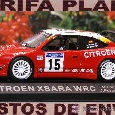 Coches a escala: CITROEN XSARA WRC TOUR DE CORSE 2001 JESUS PURAS - M.MARTI ESCALA 1:43 DE ALTAYA EN CAJA. Lote 28318263