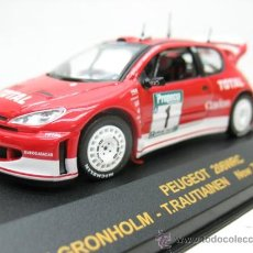 Coches a escala: RALLY CAR -PEUGEOR 206WRC RALLY DE NEW ZEALAND -AÑO 2003 -ESCALA 1/43. Lote 28731157