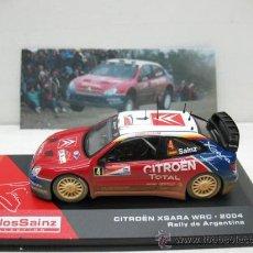 Coches a escala: CARLOS SAINZ -CITRÖEN XSARA WRC-AÑO 2004 -RALLY DE ARGENTINA -ESCALA 1/43. Lote 28731328