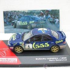 Model Cars - CARLOS SAINZ -SUBARU IMPREZA-AÑO 1995 -RALLY CATALUNYA -ESCALA 1/43 - 28731376