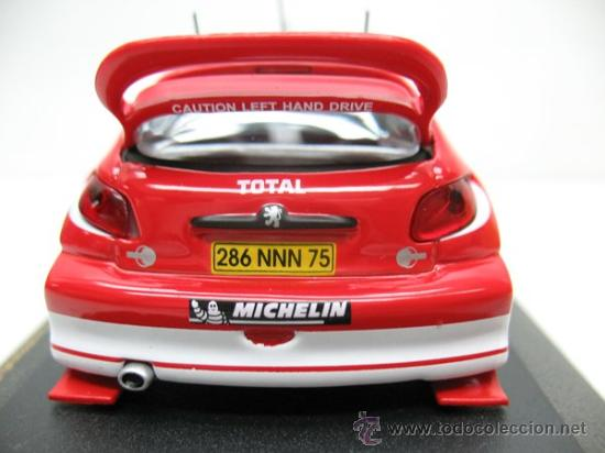 Coches a escala: RALLY CAR -PEUGEOR 206WRC RALLY DE NEW ZEALAND -AÑO 2003 -ESCALA 1/43 - Foto 4 - 28731157