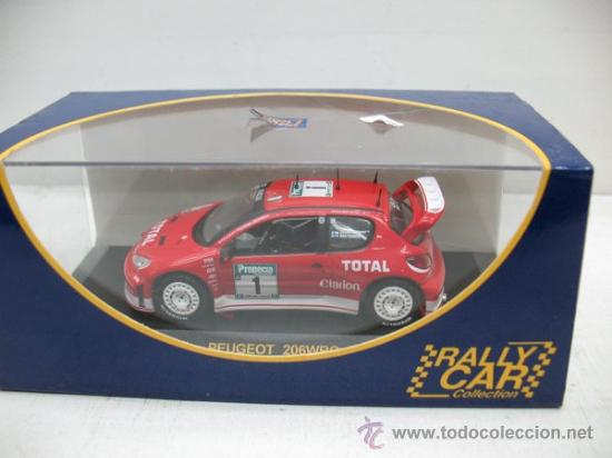 Coches a escala: RALLY CAR -PEUGEOR 206WRC RALLY DE NEW ZEALAND -AÑO 2003 -ESCALA 1/43 - Foto 7 - 28731157