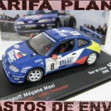 Model Cars - RENAULT MEGANE MAXI TOUR DE CORSE 1996 JEAN RAGNOTTI -GILLES THIMONIER ESCALA 1:43 DE ALTAYA EN SU - 31860422