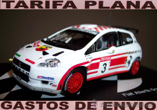 1:43 Fiat Abarth Grande Punto s2000 alen-Rally de rusia 2007