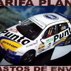 Coches a escala: FIAT PUNTO S1600 RALLY VILLA DE LLANES 2002 SERGIO VALLEJO -DIEGO VALLEJO ESCALA 1:43 DE ALTAYA EN S. Lote 30920425