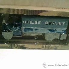 Coches a escala: BERLIET GDR 7W-HUILES BERLIET-CAMIONES DE ANTAÑO ESC 1/43 NUEVO. Lote 30973071