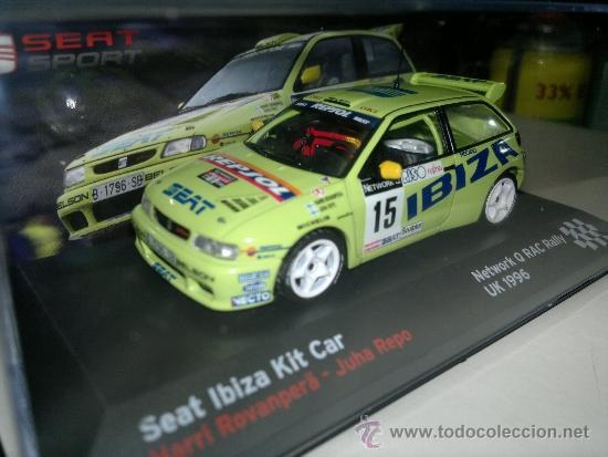 IBIZA KIT CAR 1996 RAC Rovanperä RES2E voiture 1//43 IXO altaya SEAT de Rallye