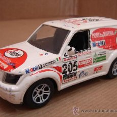 Coches a escala: 2 X COCHE MINIATURA METAL - GUISVAL TOYOTA LAND CRUISER - CELICA ESC:1/43 - MADE IN SPAIN. Lote 31114990