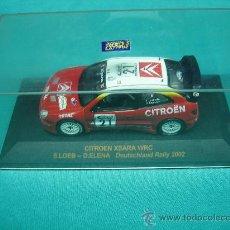 Coches a escala: COCHE DE RALLY. CITROEN XSARA WRC 2002. Lote 31903983