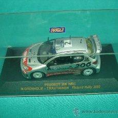 Coches a escala: COCHE DE RALLY. PEUGEOT 206 WRC 2002. Lote 31903999
