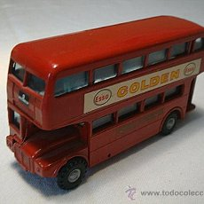 Coches a escala: BUDGIE TOYS 236 00 SCALE ROUTEMASTER DOUBLE DECKER BUS WITH WINDOWS MADE IN ENGLAND BY A MEMEBER OF . Lote 31979540