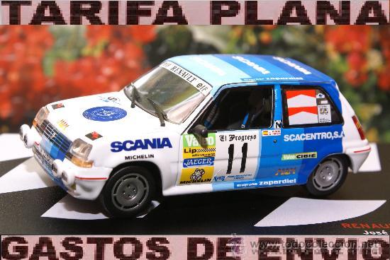 RENAULT 5 GT TURBO RALLYE SAN FROILAN J.PINON / A.PRATS,ESCALA 1:43 DE ALTAYA EN SU CAJA (Juguetes - Coches a Escala 1:43 Otras Marcas)