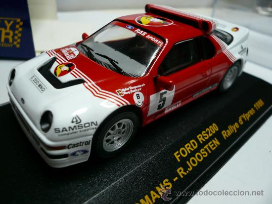 ALTAYA RALLY FORD RS 200 (Juguetes - Coches a Escala 1:43 Otras Marcas)