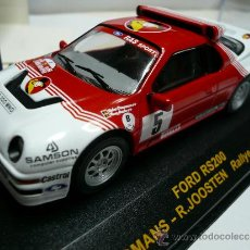 Coches a escala: ALTAYA RALLY FORD RS 200. Lote 110749231