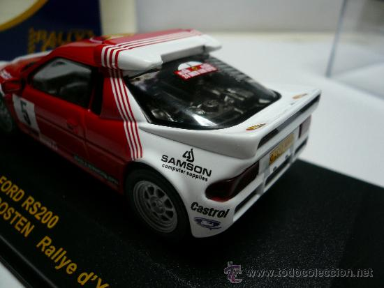 Coches a escala: ALTAYA RALLY FORD RS 200 - Foto 3 - 110749231