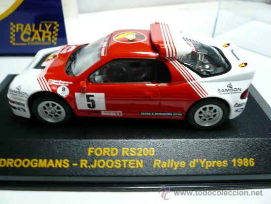 Coches a escala: ALTAYA RALLY FORD RS 200 - Foto 4 - 110749231