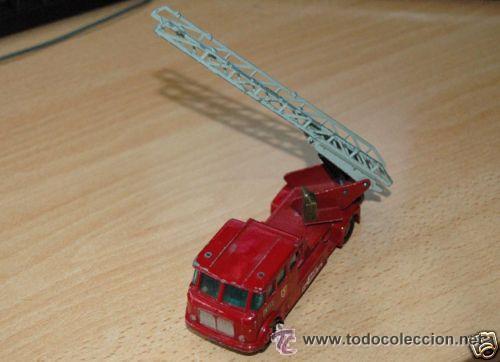 Coches a escala: Camión bomberos Matchbox Lesney - Foto 2 - 32278631