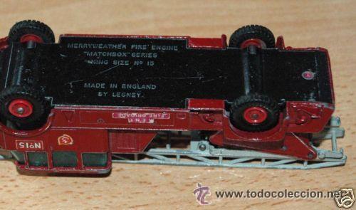 Coches a escala: Camión bomberos Matchbox Lesney - Foto 3 - 32278631