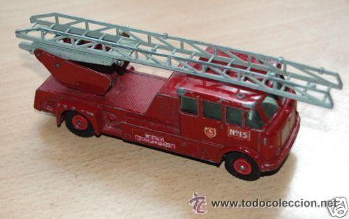 Coches a escala: Camión bomberos Matchbox Lesney - Foto 4 - 32278631