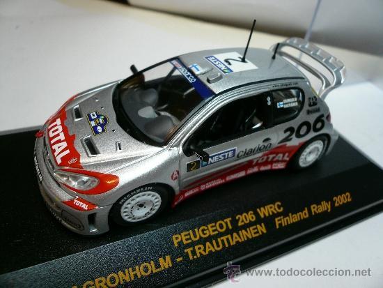 ALTAYA PEUGEOT 206 WRC RALLY DE FINLANDIA 2002 @ (Juguetes - Coches a Escala 1:43 Otras Marcas)