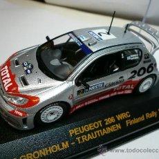 Coches a escala - ALTAYA PEUGEOT 206 WRC RALLY DE FINLANDIA 2002 @ - 32279635